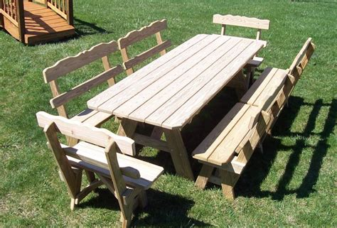 free picnic table plans with separate benches pdf picnic table plans with separate benches plans free