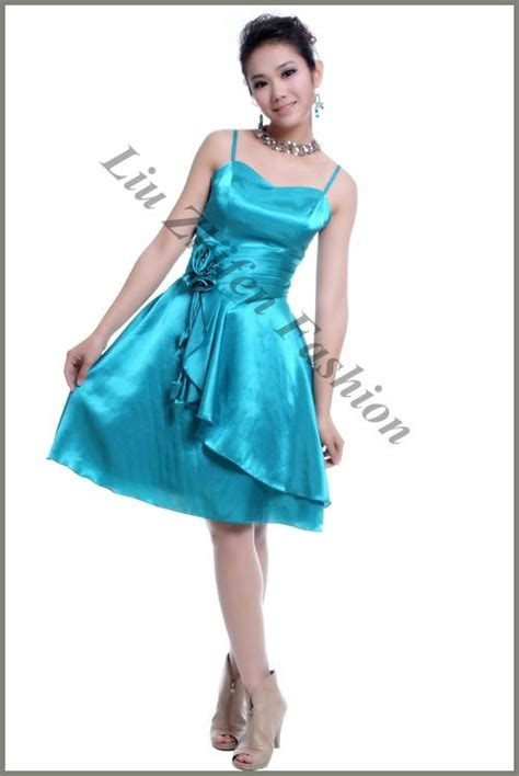 design clothes made in china elegant design hot sale short evening dress factory made
