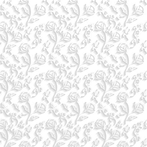 White Pattern Floral | floral white pattern vector free download