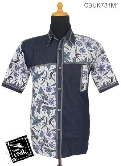 Kemeja Soft Oshkosh 1 baju batik kemeja motif kombinasi soft motif bunga apple blossom kemeja lengan pendek