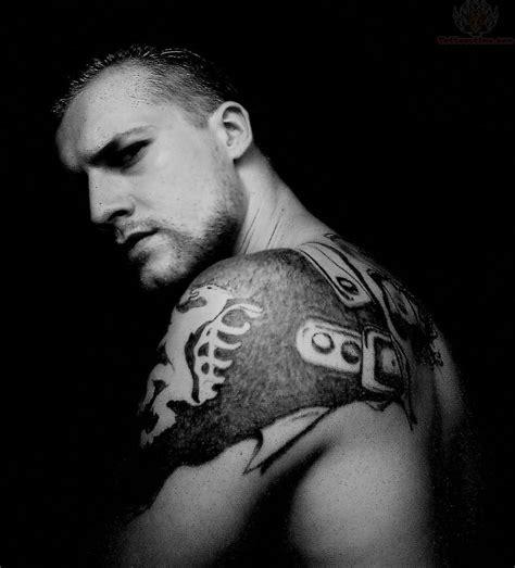 shoulder armor tattoos for men armor images designs