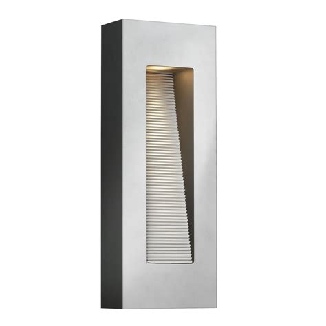 contemporary outdoor led wall lights contemporary titanium finished led exterior wall light