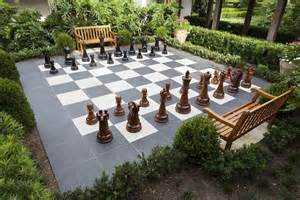 Patio Chess Set by Outdoor Chess 25 Ideas And Inspirations