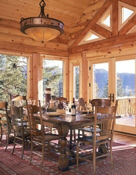 Log Cabin Dining Room Furniture Log Cabin Dining Room Log Cabin