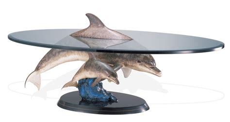 Dolphin Table by Above And Below Dolphins Table