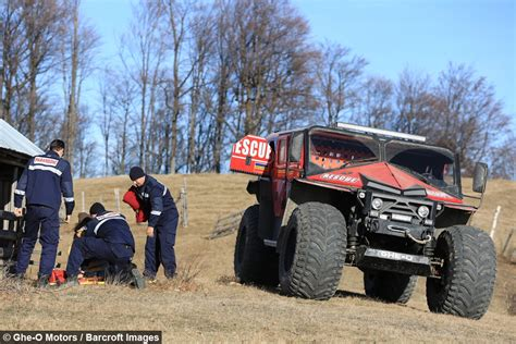Rescue Car ghe o motors company makes an rescue vehicle prototype