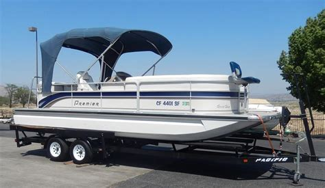 used pontoon boats for sale perris ca 2007 used premier 235 sport deck pontoon boat for sale