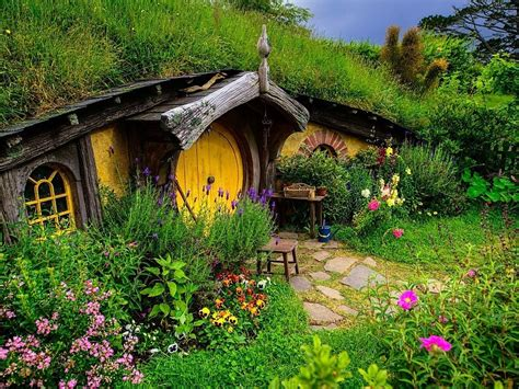 imagenes hermosas de nueva zelanda hobbiton new zealand wallpaper free desktop backgrounds