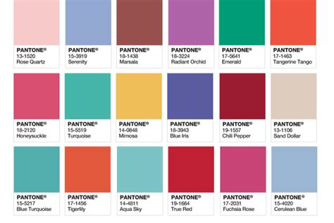 2016 color of the year american profanity serenity and rose quartz rule as