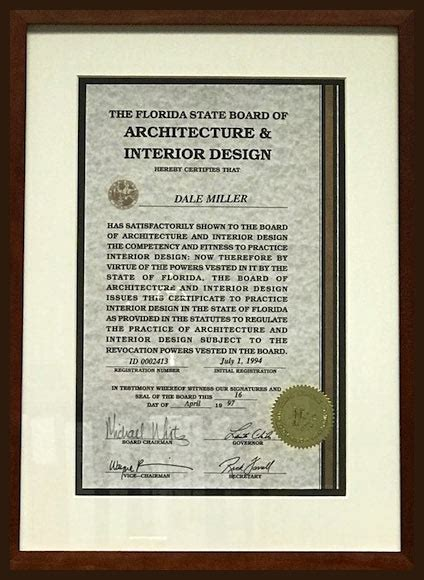 Florida Interior Design License by News Daring By Design