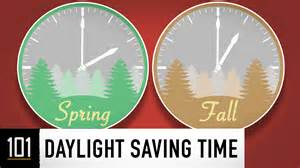 daylight saving time 101
