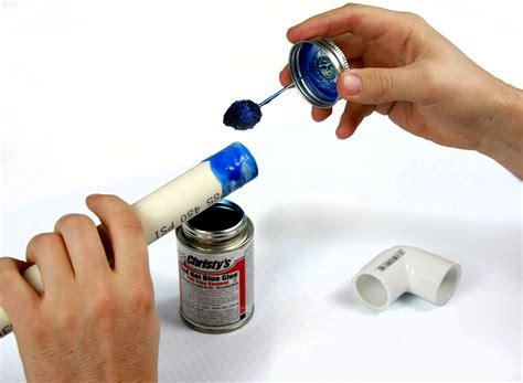 Plumbing Glue by How To Glue Pvc Pipes Fittings Together Achieve A