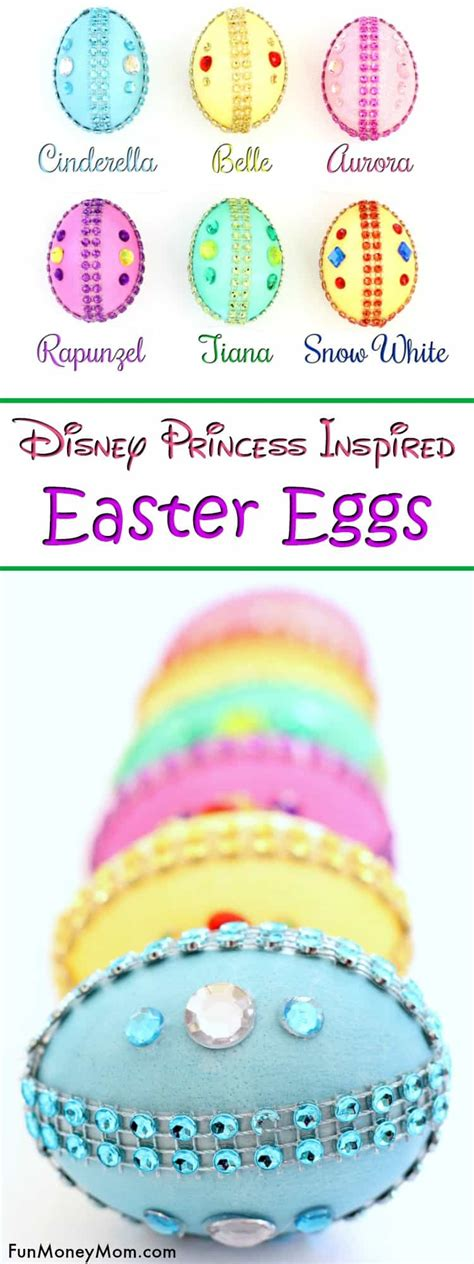 Telor Princess Pretty Egg disney princess easter egg ideas money