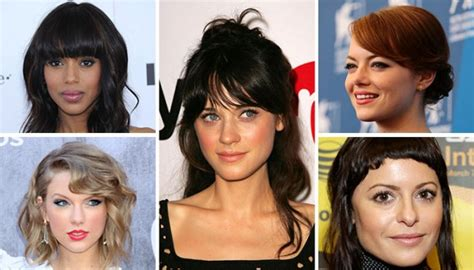 how many types of hair bangs are there the fringe lowdown 5 types and how to style them