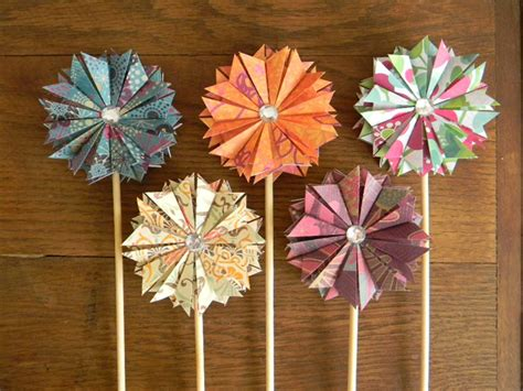 How To Make Paper Fairies - paper wands apples modern fairyroom