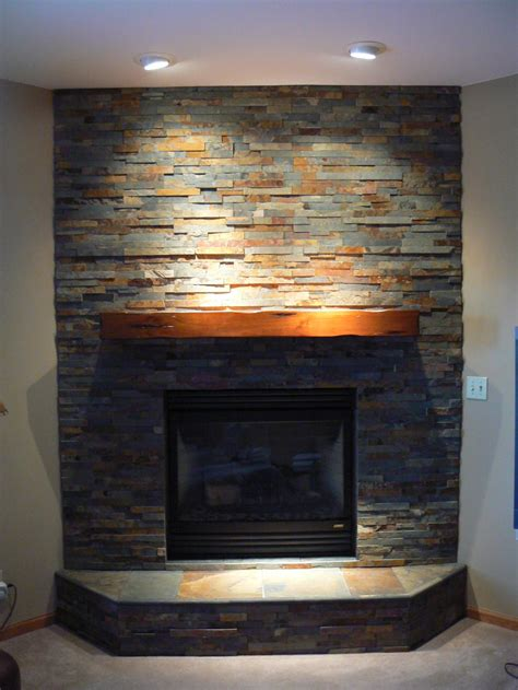 stone for fireplace slate fireplace surround on pinterest slate fireplace