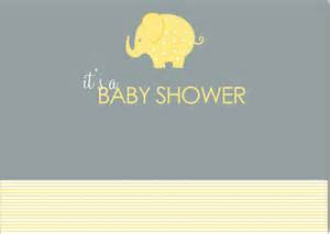 elephant themed baby shower thank you cards my baby registry