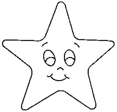 free printable star coloring sheet to print