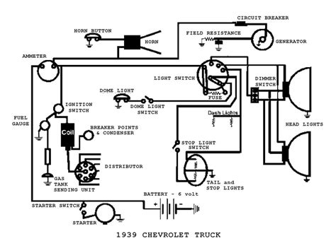 simple vehicle wiring diagram wiring diagram and schematic
