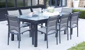Charmant Table De Jardin Aluminium Extensible #7: Salon-jardin ...