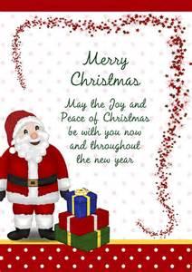 Santa presents christmas card 003
