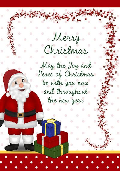 printable christmas card messages printable christmas cards