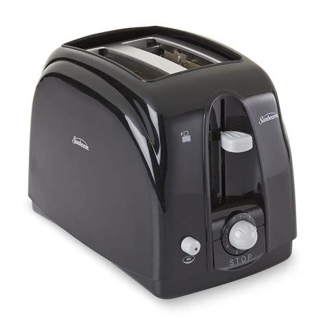 Sunbeam Toaster Sunbeam 3910 2 Slice Toaster Black Silver
