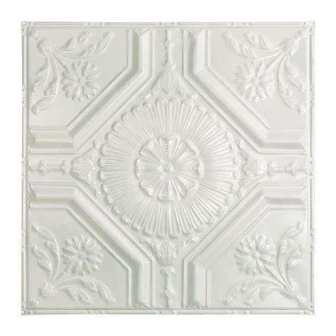 Metal Ceiling Tiles Home Depot by Great Lakes Tin Toronto 2 Ft X 2 Ft Nail Up Tin Ceiling