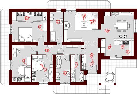 Progetto Casa 130 Mq progetto 130 mq architettura a domicilio 174
