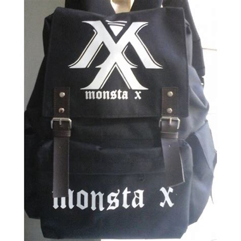 Tas Backpack Kpop Exo Planet tas ransel laptop kpop monsta x terbaru surya mode