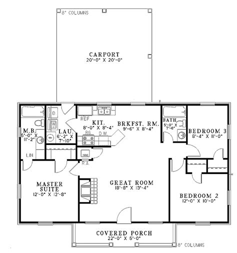 1100 Square Foot House Plans by 700 Square Foot House Plans Home Plans Homepw18841