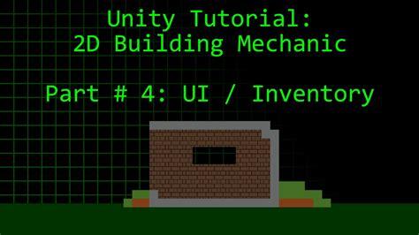 unity tutorial series unity tutorial 2d block placement building mechanic