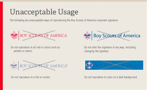 boy scout business card template corporate trademark scouting wire scouting wire