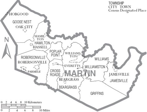 Martin County Court Records Maps