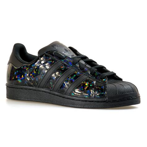 adidas originals adidas womens superstar  trainers black