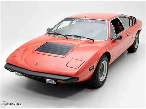 Lamborghini Urraco P250 For Sale 1976 Lamborghini Urraco P250 For Sale Classiccars
