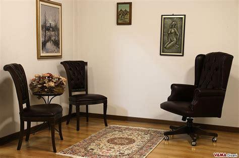 uffici di lusso sedia classica con lavorazione capitonn 232 sullo schienale