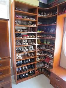 atlanta closet corner shoe shelves 03 traditional