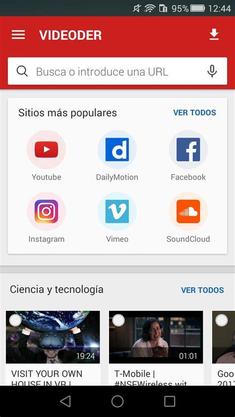 videoder  telecharger pour android apk gratuitement