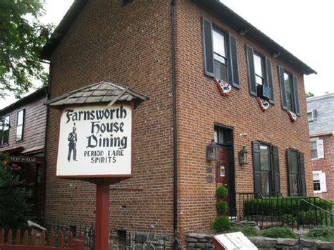 farnsworth house gettysburg farnsworth house inn gettysburg pa