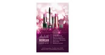 makeup artist flyers templates makeup artist cosmetician pink glitter 14 cm x 21