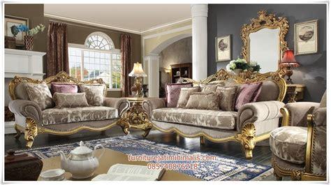 sofa ruang tamu klasik mewah sofa tamu klasik sofa