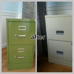 painting a rusty file cabinet refinished stackable filing cabinet painting metal