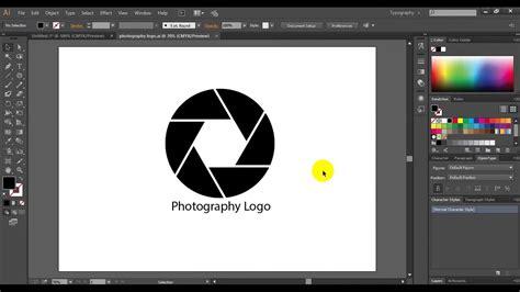 photography logo youtube