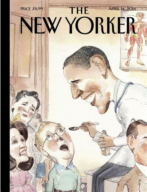 the best details from the new yorker s tmz profile cover story barry blitt s the best medicine the new