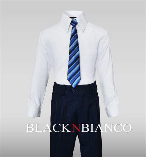 boys suits black n bianco