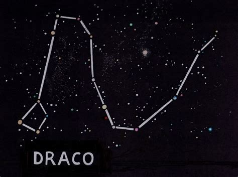 Constellation Draco by Constellations Draco Www Imgkid The Image Kid Has It