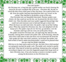the story of the little christmas spider video tutorial