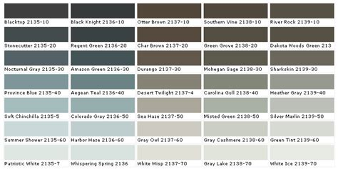 benjamin color chart benjamin paint colors benjamin paints