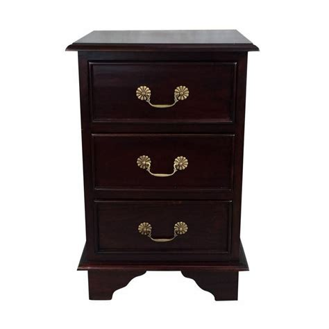 solid mahogany wood victorian bedside table antique style bedroom furniture ebay